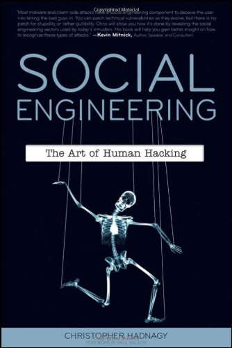Social Engineering, the Art of Human Hacking (book)